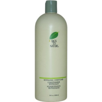 Revitalizing Conditioner By Back To Nature for Unisex, 34 Ounce