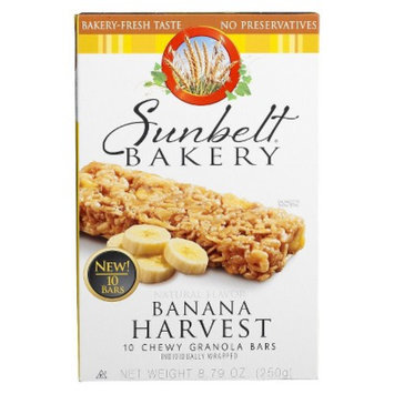 Sunbelt Bakery Banana Harvest Granola Bars 10 ct