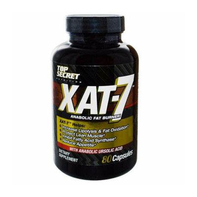 Top Secret Nutrition XAT-7 Anabolic Fat Burner 80 Caps