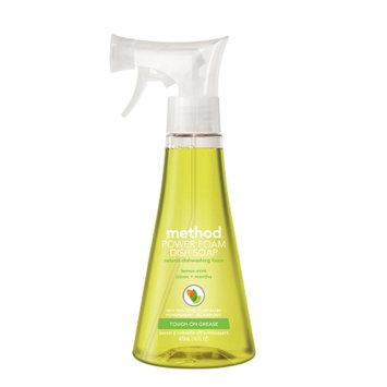 method power foam dish soap lemon mint