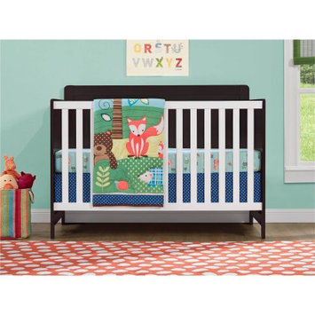 Standard Full-sized Crib Brown White by Cosco