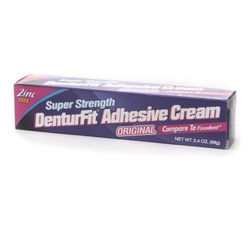 DenturFit Super Strength Denture Adhesive Cream