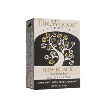 Dr. Woods Raw Black Nourishing Facial Cleansing Soap, 5.25 oz