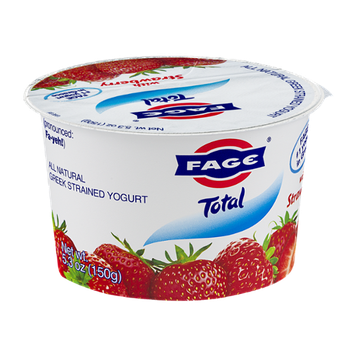 Fage Total Greek Strained Yogurt with Strawberry
