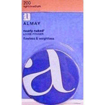 Almay Nearly Naked Loose Powder, Light / Medium