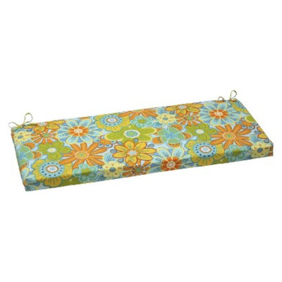 Pillow Perfect Outdoor Bench Cushion - Glynis