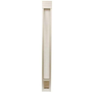 PetSafe Deluxe Pet Panel for Sliding Doors, Satin