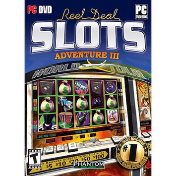 Phantom EFX Reel Deal Slots Adventure III World Tour