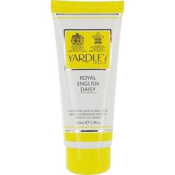 Yardley 226510 Royal English Daisy Hand and Nail Cream 3.4-Oz