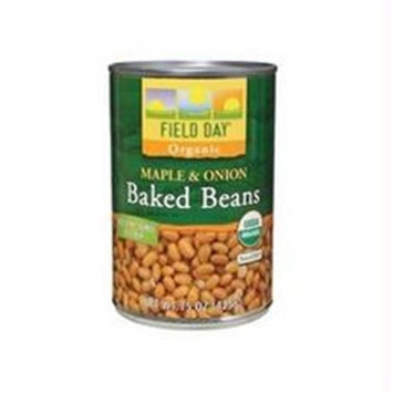 Field Day B03079 Field Day Maple & Onion Baked Beans -12x15oz
