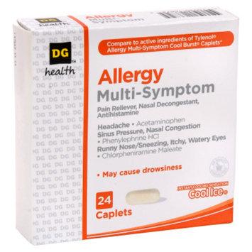 DG Health Multi-Symptom Allergy Relief Caplets - 24 ct