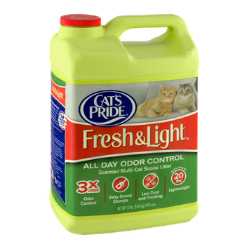 Cat's Pride Fresh & Light All Day Odor Control Scented Multi-Cat Scoop Litter