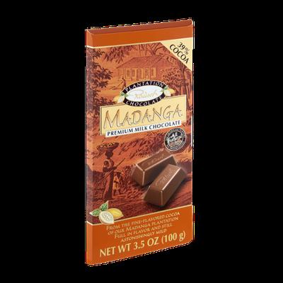Rausch Madanga 39% Cocoa Premium Milk Chocolate Bar