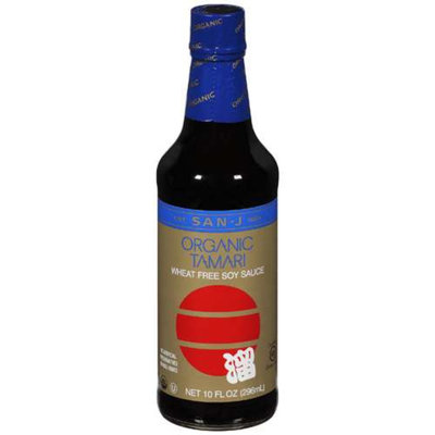 San-J International Inc. San-J Organic Wheat Free Tamari Soy Sauce -- 10 oz