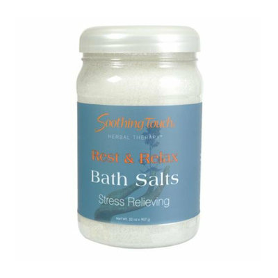 Soothing Touch & Sunshine Spa Soothing Touch Bath Salts Rest and Relax 32 oz