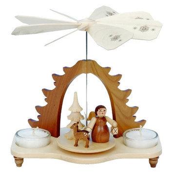 Alexander Taron Tabletop Candle Pyramid Indoor Christmas Decoration 33-056