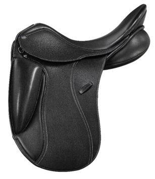 Pessoa PDS Showtime Covered Corto Dressage Saddle 17.5R
