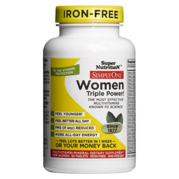 Super Nutrition Simply One Women