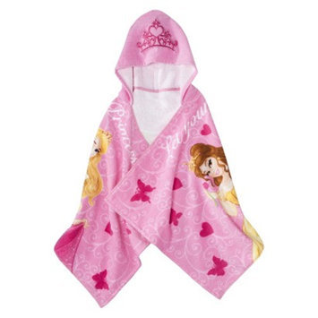 Disney Princess Hooded Towel - Pink