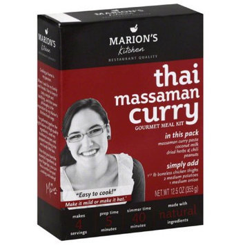 Marions Kitchen Thai Massaman Curry Gourmet Meal Kit, 12.5 oz, (Pack of 5)