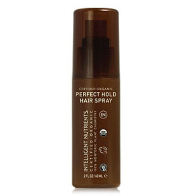 Intelligent Nutrients Certified Organic Perfect Hold Hair Spray