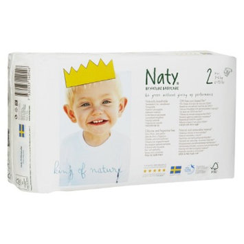 Naty by Nature Babycare Nature Babycare Eco-Friendly Baby Diapers Case - Size 2 (136 Count)