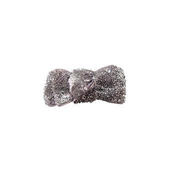 M & D Elecparts Company Ltd. Anima Silver Dog Bow Barrettes - 6 per pack
