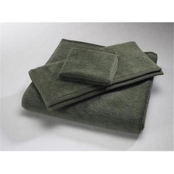 Home Source 10102HAG70 100 Percent Cotton Hand Towel - Moss