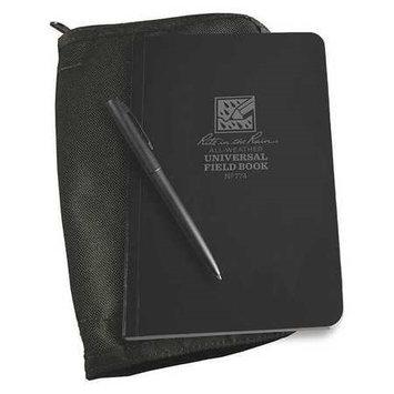 Rite In The Rain Notebook Kit,64 Sheets, Black Cover Model: 774B-KIT