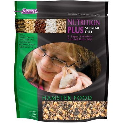 F.M.BROWN'S F.M. Brown's Nutrition Plus Supreme Hamster Food, 3-Pound