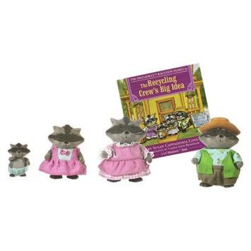 Li'l Woodzeez Diggadillys Raccoon Family