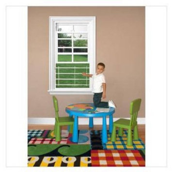 Guardian Angel Window Guard (14-17 wide) - 4 Horizontal Bars