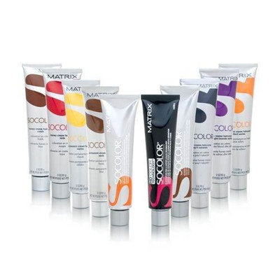 Matrix Socolor Permanent Cream Hair Color, Light Brown Ash, 3 Ounce