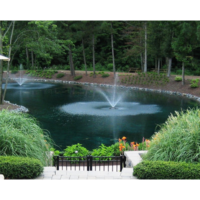 Sierra Accessories Outdoor Water Solutions® 1/2 HP Fountain with Light