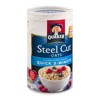 Quaker Steel Cut Oats Quick 3-Minute