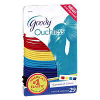 Goody Ouchless Carnival of Colors Gentle Elastics - 29 CT