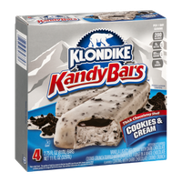 Klondike Kandy Bars Cookies & Cream - 4 CT