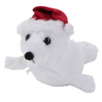Whisker CityA Catnip Seal Holiday Cat Toy