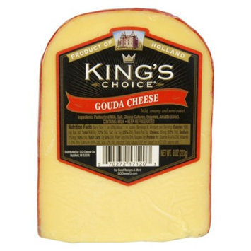 Kings Choice Gouda Cheese 8 oz