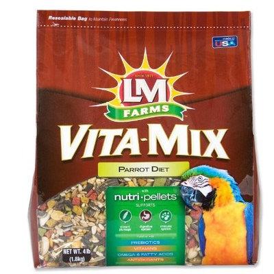Hartz Vita-Mix Parrot Diet, 4-Pound
