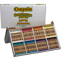 Crayola Contruction Paper Crayons Classpack - 160 Count