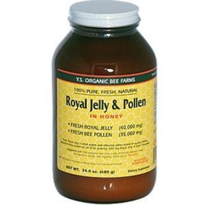 Y.S. Organic Bee Farms Royal Jelly & Pollen in Honey