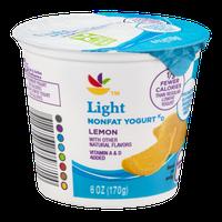 Ahold Light Nonfat Yogurt Lemon