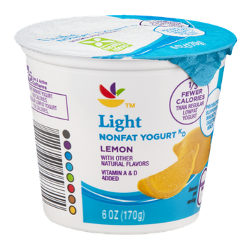 Ahold Light Nonfat Yogurt Lemon