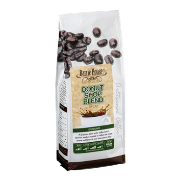 Barrie House Ground Coffee Decaf Donut Shop Blend