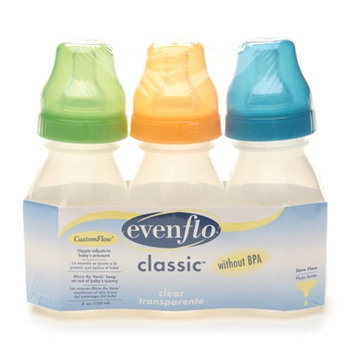 Evenflo Classic Clear Bottles