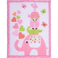 Baby Boom - Mix 'N Match Animal Print Crib Bedding Comforter
