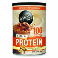 DESIGNER WHEY Protein Powder Supplement, Chocoalte Peanut Caramel, 12.7-Ounce Canister (Pack of 2)