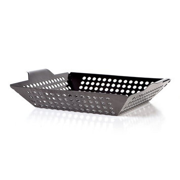 Sun Peak BBQ Vegetable Grill Basket Non-Stick Roasting Tray