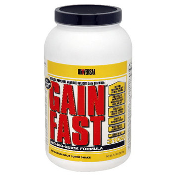 Universal Nutrition Gain Fast, Get-Big-Quick Formula, Big Banana-Split Super Shake, 5.1 lb (2312 g)